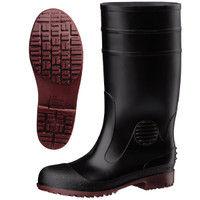 ミドリ安全 耐滑抗菌安全長靴ハイグリップ HG1000スーパー ブラック 24.5cm (直送品)