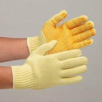 ミドリ安全 耐切創ケブラー手袋 MK-100V(すべり止付) 1セット(10双入) 4043010900 (直送品)