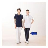 アイトス 医療白衣 レディースパンツ(スリムストレート) 861366-088 ダークネイビー S ナースパンツ 1枚