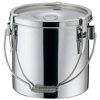 19-0 電磁対応給食缶 18cm (取寄品)