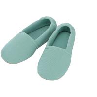 あゆみ 介護靴 2004エスパド グリーンL(23.5-24.5cm)両足 室内用 (取寄品)
