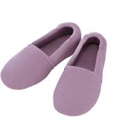 あゆみ 介護靴 2004エスパド 紫LL(25.0-26.0cm)両足 室内用 (取寄品)