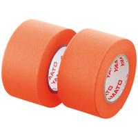 ヤマト メモックロールテープ詰替用 幅25mm×10m巻 オレンジ WR-25H-OR 1パック(2巻入)