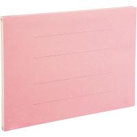 アスクル フラットファイル A3ヨコ ピンク エコノミータイプ 10冊