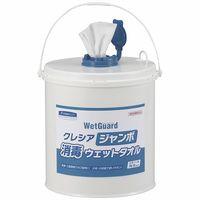 日本製紙クレシア クレシア ジャンボ消毒ウェットタオル本体 64110 1個(250枚入)