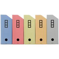ボックスファイル シブイロ A4 5色