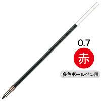 ゼブラ 油性ボールペン替芯 SK-0.7芯 赤 BR-6A-SK-R 1箱(10本入)