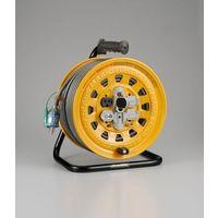 エスコ(esco) AC125V/15A/50m コードリール(漏電遮断付) 1個 EA815D-50(直送品)