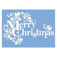 【クリスマス】ウインドウシール リピッタ MC文字・柊 (店舗装飾・室内装飾・ウインドウシールレーション) 1枚