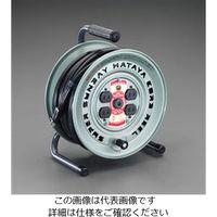 エスコ(esco) AC125V/15A/50m コードリール(サーモカット付) 1個 EA815BL-50(直送品)