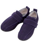 あゆみ 介護靴 7030ケアフルIII 7E 紫L(23.0-23.5cm)両足 外出用(取寄品)