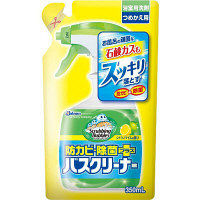 スクラビングバブル バスクリーナー 防カビ除菌プラス シトラスライムの香り 詰め替え 350ml ジョンソン