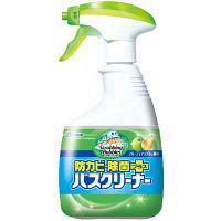 スクラビングバブル バスクリーナー 防カビ除菌プラス フルーティアップルの香り 本体 400ml ジョンソン