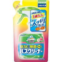 スクラビングバブル バスクリーナー 防カビ除菌プラス フレッシュフローラルの香り 詰め替え 350ml ジョンソン