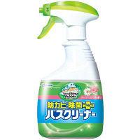 スクラビングバブル バスクリーナー 防カビ除菌プラス フレッシュフローラルの香り 本体 400ml ジョンソン