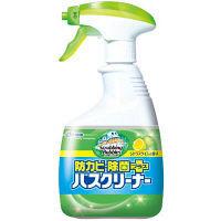 スクラビングバブル バスクリーナー 防カビ除菌プラス シトラスライムの香り 本体 400ml ジョンソン