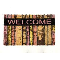 ベルコック wood&welcome (ウッド&ウェルカム) 玄関マット 幅750×奥行450mm 1枚