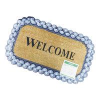 VELCOC(ベルコック)seashell (シーシェル) 玄関マット 幅750×奥行450mm 1枚 (取寄品)