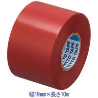 ニトムズ ビニルテープS 赤 19mm×10m巻 J2571