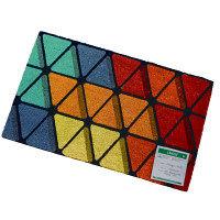 VELCOC(ベルコック)multicolorA (マルチカラーA) 玄関マット 幅750×奥行450mm 1枚 (取寄品)