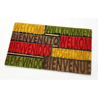 VELCOC(ベルコック)multicolorB (マルチカラーB) 玄関マット 幅750×奥行450mm 1枚 (取寄品)
