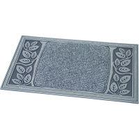 VELCOC(ベルコック)leafmatsil (リーフマットシルバー) 玄関マット 幅750×奥行450mm 1枚 (取寄品)