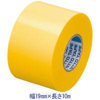 ニトムズ ビニルテープS 黄 19mm×10m巻 J2572