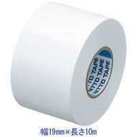 ニトムズ ビニルテープS 白 19mm×10m巻 J2575