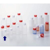 ケーエム化学 ミニサンプルボトル(パッキン付) 3cc シロ 1箱(100本入) (取寄品)