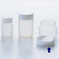 ケーエム化学 サンプルボトル(パッキン付) L(50mL) SB-L 1箱(100本入) (取寄品)