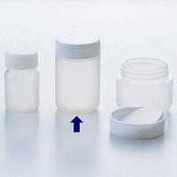 ケーエム化学 サンプルボトル(パッキン付) M(50mL) SB-M 1箱(100本入) (取寄品)