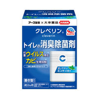 Cleverin(クレベリン) トイレの消臭除菌剤 ミントの香り 本体 100g アース製薬