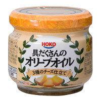 具だくさんのオリーブオイル チーズ仕立て
