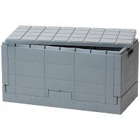 岩谷マテリアル グリッドコンテナー グレー SKGC GY 1セット(3個) (取寄品)