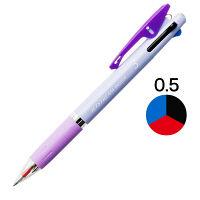 ジェットストリーム インサイド 3色ボールペン 0.5mm パープル軸 紫 アスクル限定 H.SXE34050512 三菱鉛筆uni