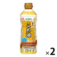 Jオイルミルズ 味の素 健康こめ油 1セット(2本入)