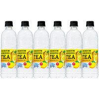サントリー 天然水 PREMIUM MORNING TEA(プレミアムモーニングティー) レモン 550ml 1セット(6本)