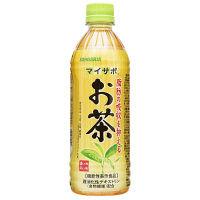 【機能性表示食品】サンガリア マイサポ 脂肪の吸収を抑える お茶 500ml 1セット(48本)