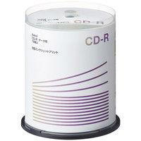 アスクル オリジナル データ用CD-R 印刷対応 100枚スピンドル CDR.PW100SP.AS