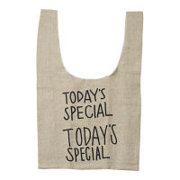 TODAYS SPECIAL(トゥデイズスペシャル) JUTE MARCHE BAG 1個