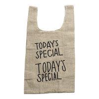 TODAYS SPECIAL(トゥデイズスペシャル) JUTE MINI MARCHE BAG 1個