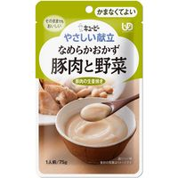 キューピー やさしい献立 Y4-15 豚肉と野菜 47219 1箱(36個入) (取寄品)