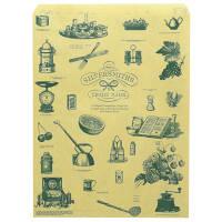 平袋 シルバースミス 茶 大 1袋(200枚入) ササガワ (取寄品)