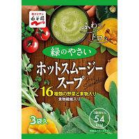 永谷園 ホットスムージースープ 緑のやさい 1袋