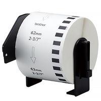 ブラザー 宛名ラベルプリンタ P-touch QL-550用 長尺紙テープ(大)(幅62mm×30.48m) DK-2205