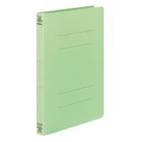 コクヨ フラットファイルW厚とじ A4タテ 10冊 グリーン フ-W10NG