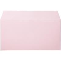 ムトウユニパック ナチュラルカラー封筒 長3横型 ピンク 100枚