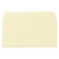 ムトウユニパック ナチュラルカラー封筒 長3横型 クリーム 100枚