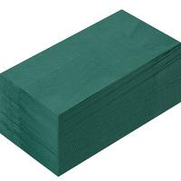 【アウトレット】溝端紙工印刷 カラーナプキン8つ折2PLYイタリアングリーン 1袋(50枚入)