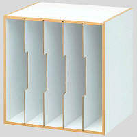 TIMELESS COMFORT 仕切板付ボックスユニット 1セット(4 ...